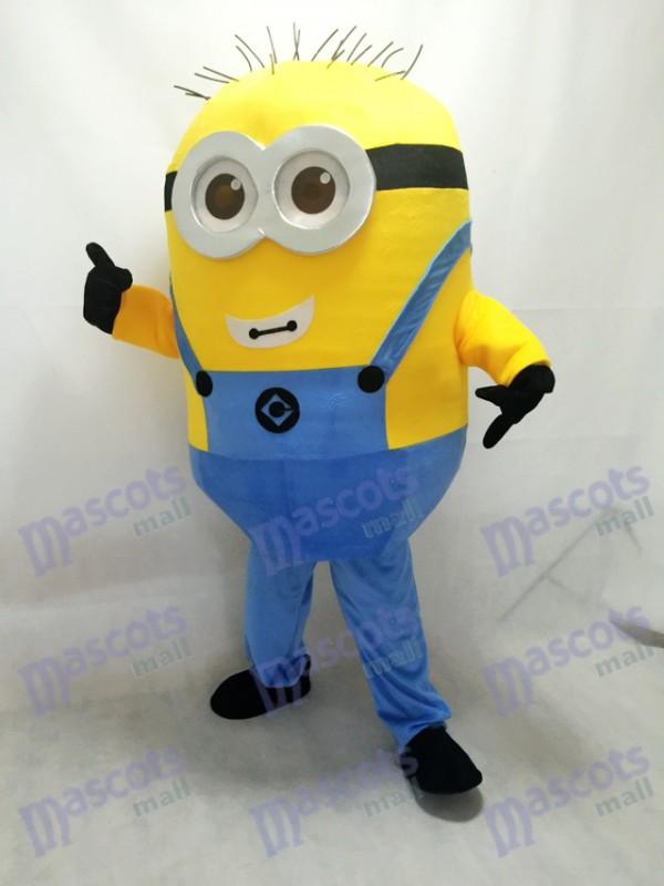Moi, moche et méchant Despicable Me Minions avec le costume de mascotte de lunettes B