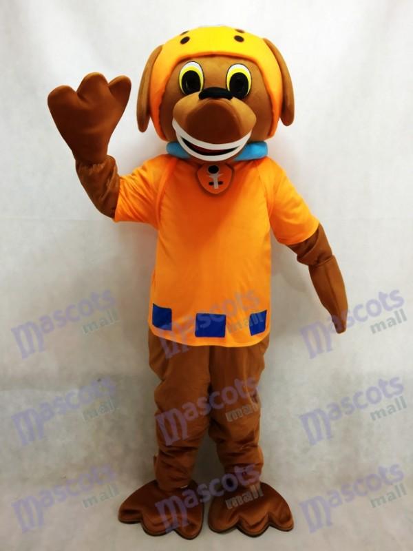 La Pat' Patrouill Paw Patrol Déguisement Mascotte Zuma Chien Chocolat Chiot Labrador