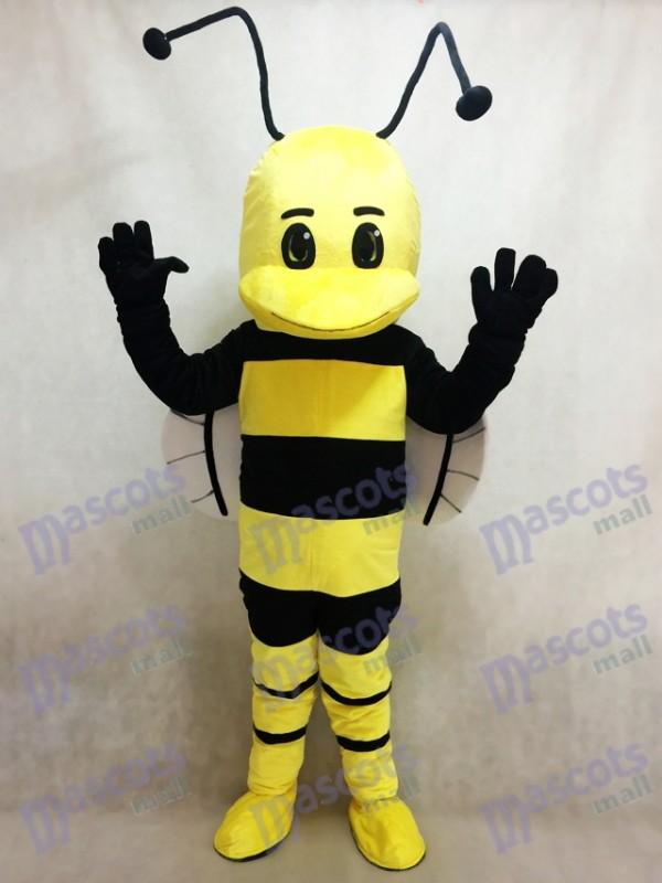 Jaune et Noir abeille Costume de mascotte Insecte