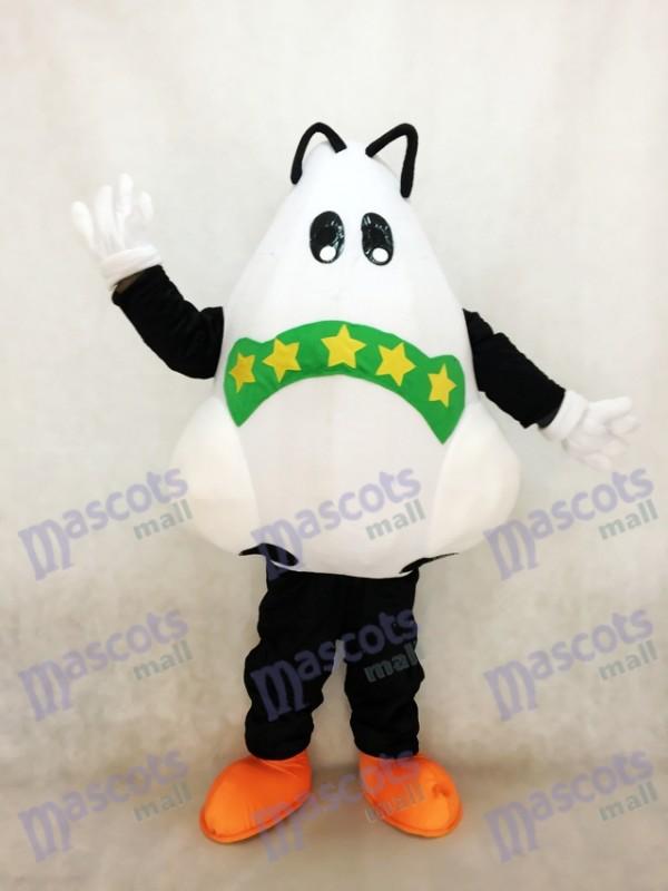 Grand Nez mignon avec Costume de mascotte bandage vert