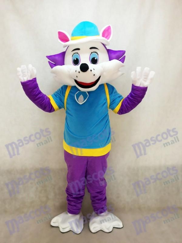 La Pat' Patrouille Paw Patrol Everest Chien husky Costume de mascotte Cartoon Snowy Mountain Pup