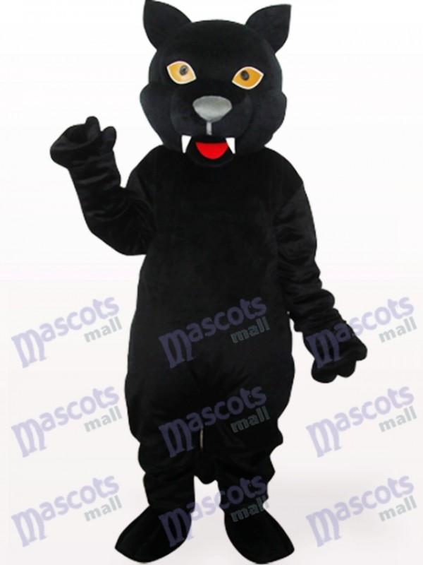 Costume de mascotte adulte Panthère noire