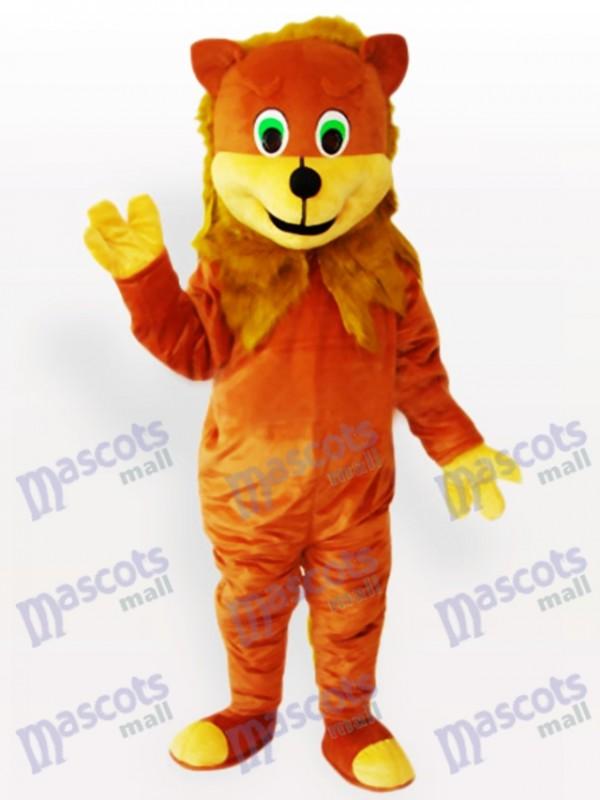 Costume de mascotte animal adulte Lion africain