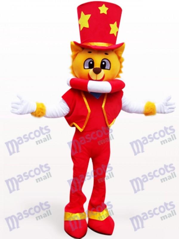 Magicien Lion Costume de mascotte adulte