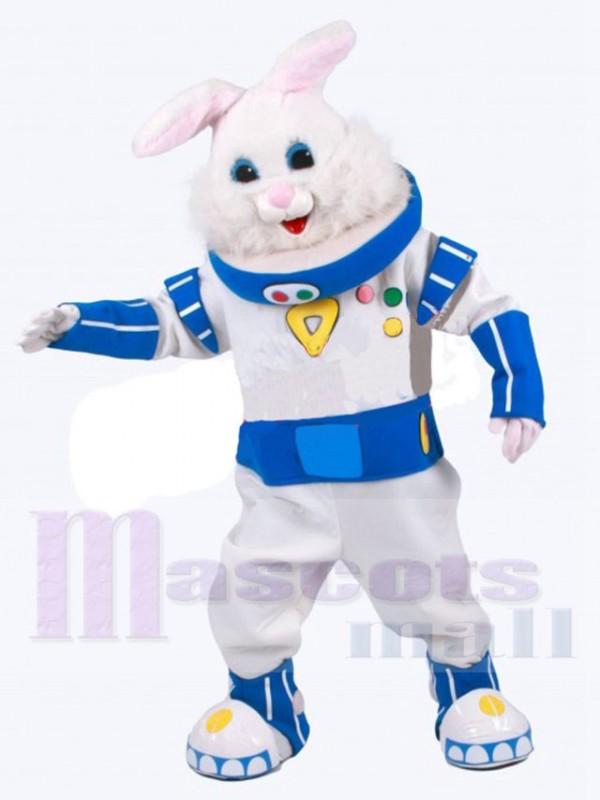 Lapin astronaute costume de mascotte