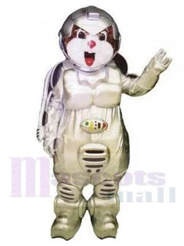 Ours astronaute costume de mascotte