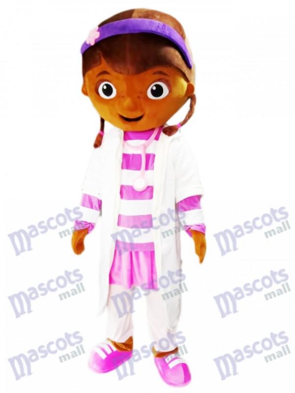 Docteur McStuffins Docteur Dottie mascotte Costume Cartoon