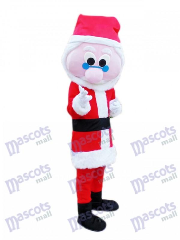Costume de mascotte de Noël Père Noël Noël Père Noël