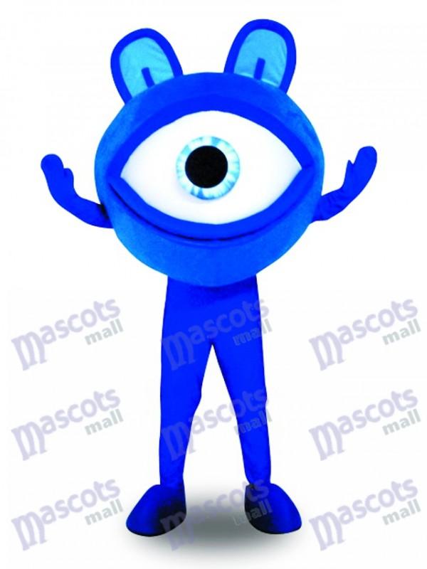 Blue Eye Lunettes Vue Protection Publicité Mascotte Costume Promotion