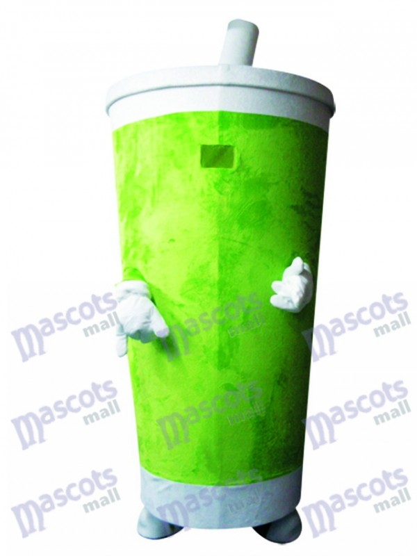 Gobelet Green Drummer Drinks Tumbler Costume Mascotte