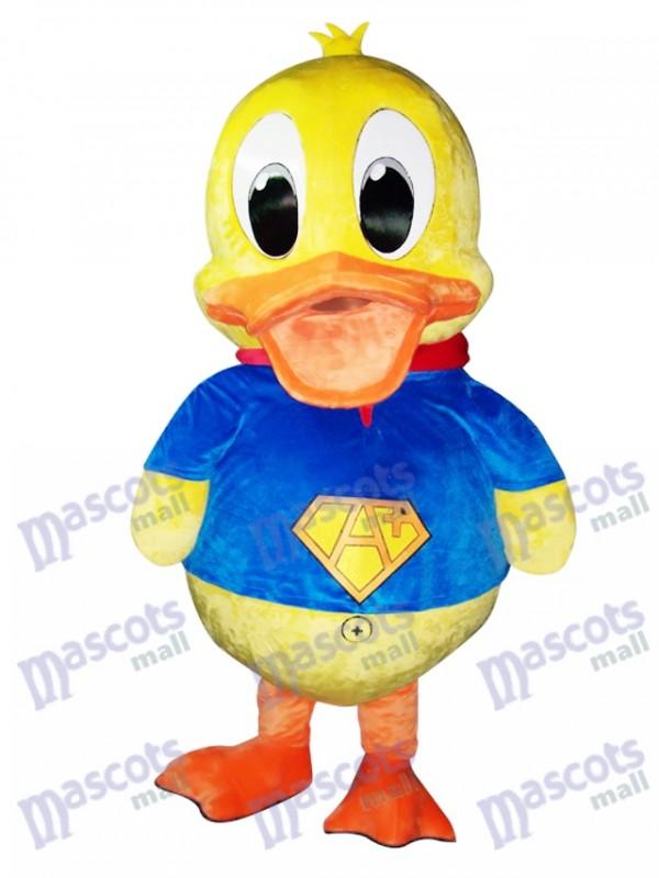 Costume bleu Costume de mascotte de canard Animal