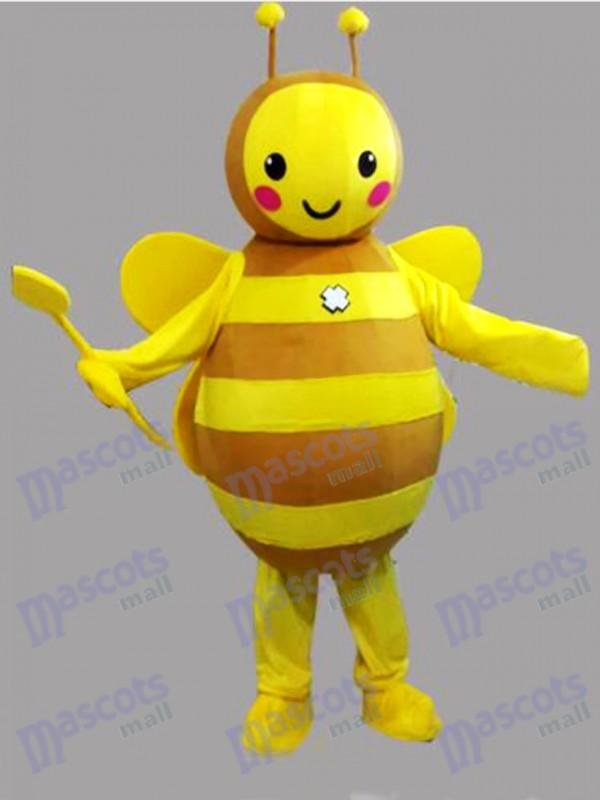 Insecte Costume mascotte abeille jaune