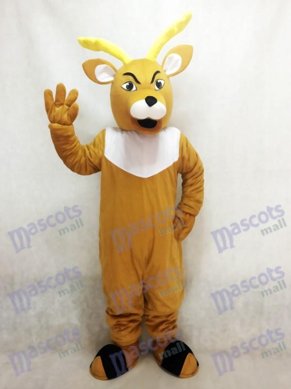 Costume de mascotte de daim de Dorian Animal