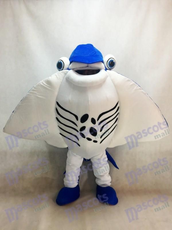 Manta Ray diable Rayons mascotte Costume océan Aquarium