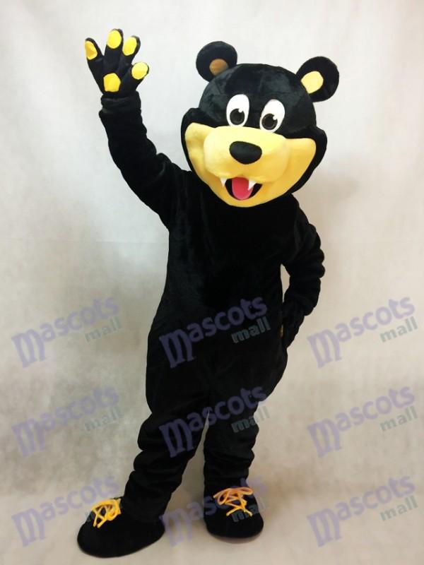 Costume de mascotte de hockey sur glace des ours d'ours de Estevan de Brown
