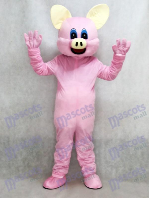 Nouveau Mascotte de Cochon Rose Costume Adulte Animal