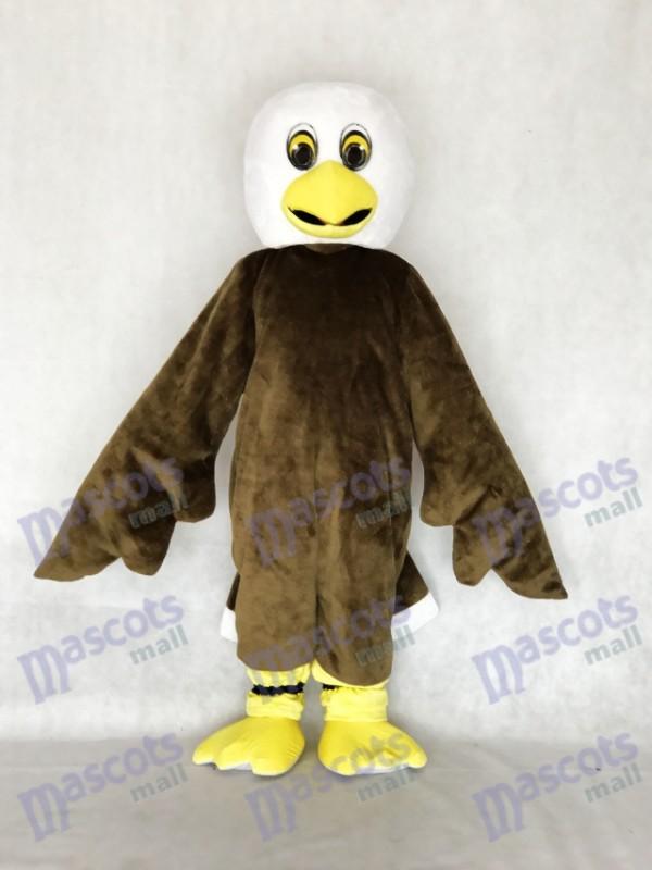 Nouveau Costume de mascotte aigle chauve marron
