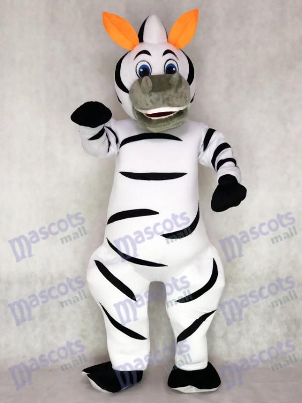 Déguisement de mascottes Zebra Marty de Orange Ears Madagascar