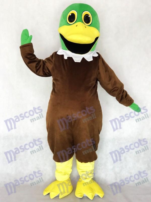 Nouveau Costume mascotte de canard colvert mignonne Animal