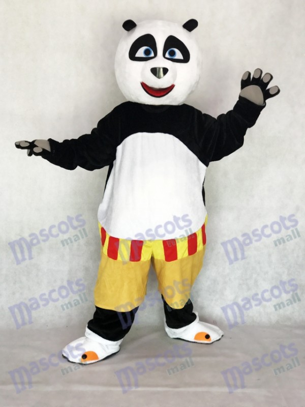 Costume adulte de mascotte de Kung Fu Panda Po Cartoon Anime