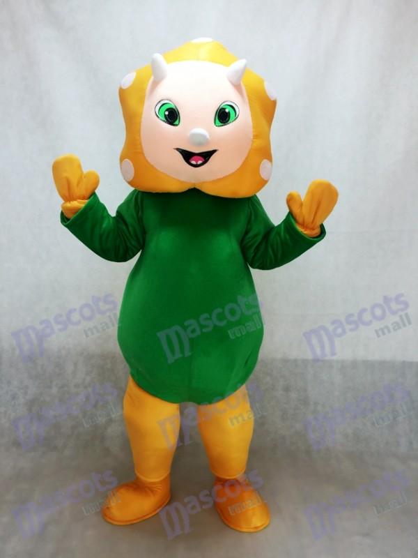 Costume de mascotte bébé dinosaure