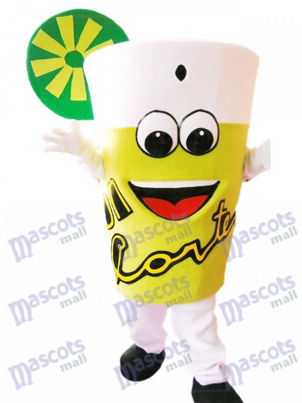 Yummy Lemonade Costume mascotte Bouteille de boisson