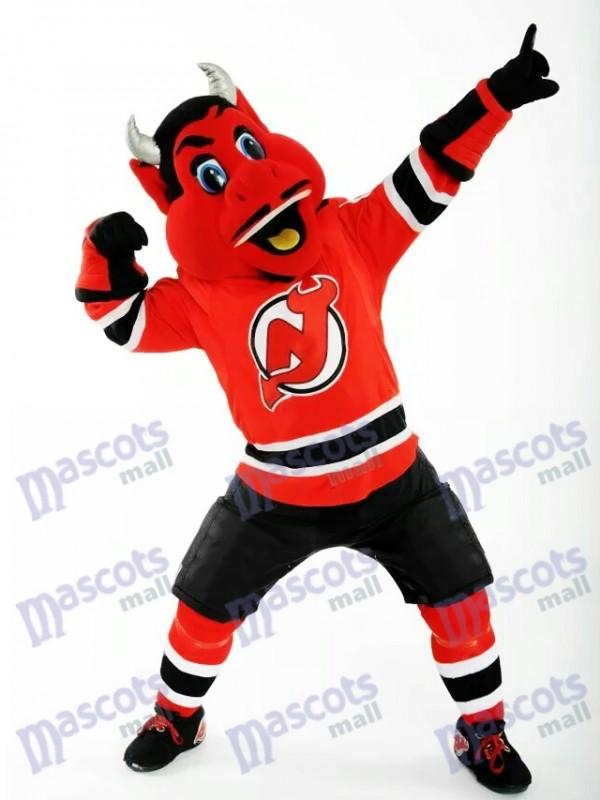 N.J. Devil du costume de mascotte des Devils du New Jersey Red Devil
