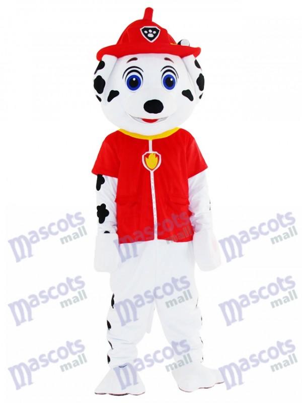Marshall Paw Patrol chien Mascotte Costume Cartoon Anime