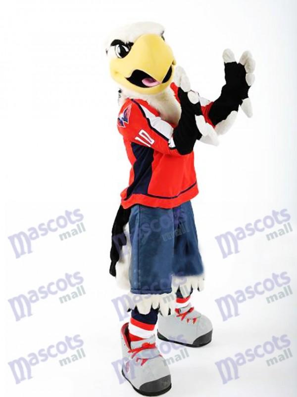 Slapshot du costume de mascotte chauve-souris de Washington Capitals Animal