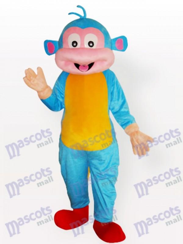 Costume de mascotte animal singe effrayant