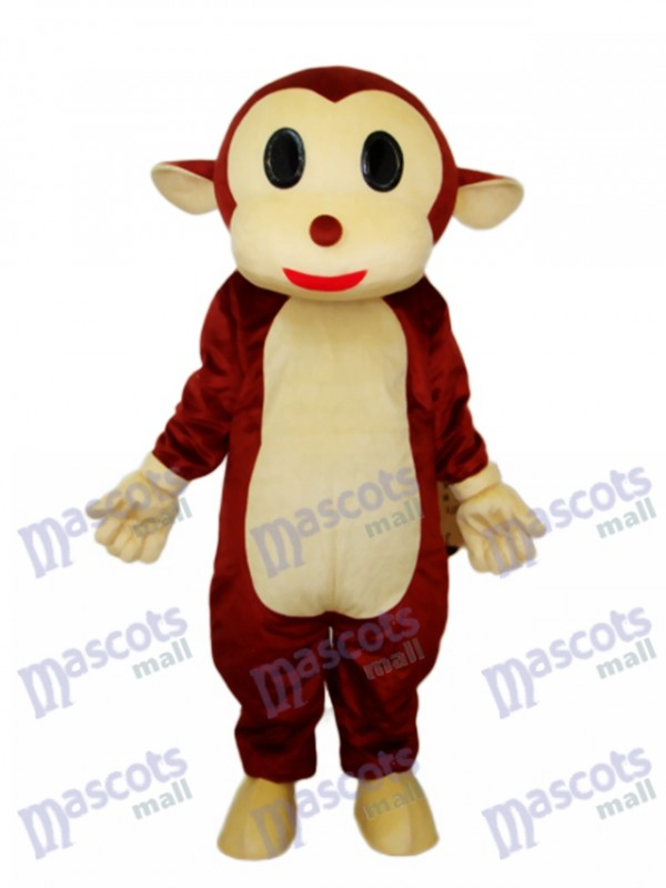 Mr.Jump singe mascotte costume adulte animal
