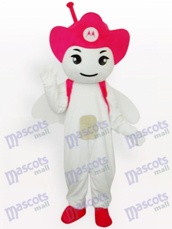 Costume de mascotte adulte Rose Moto Angel Party