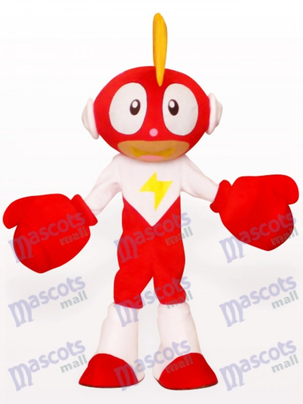 Costume de mascotte de poupée d'éclairage d'anime adulte