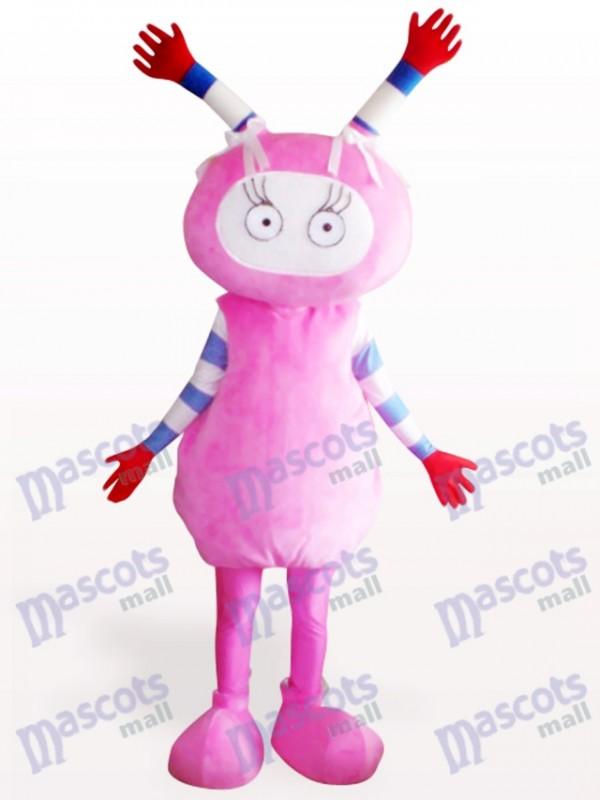 Costume de mascotte adulte rose Fairy Party