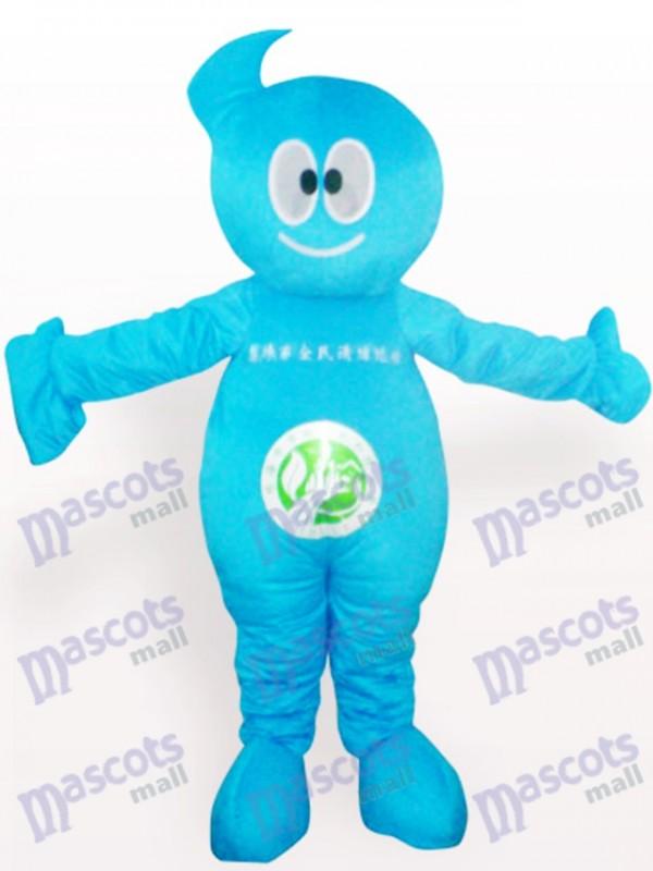 Costume de mascotte adulte de partie de poupée plus propre