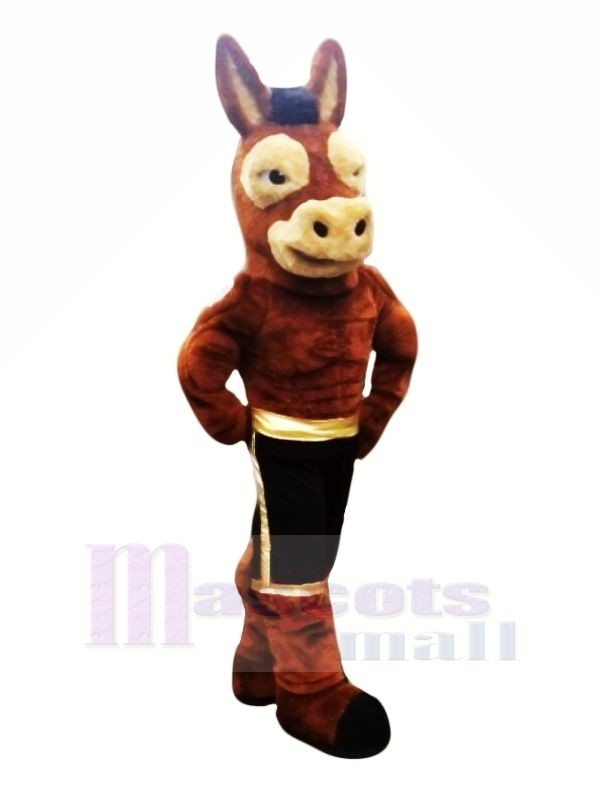 Puissance Mule Mascotte Les costumes Dessin animé