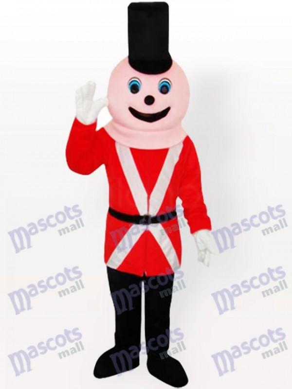 Costume de mascotte adulte soldat royal