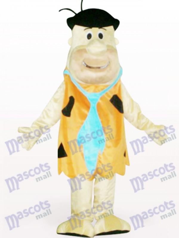 Costume de mascotte adulte marron