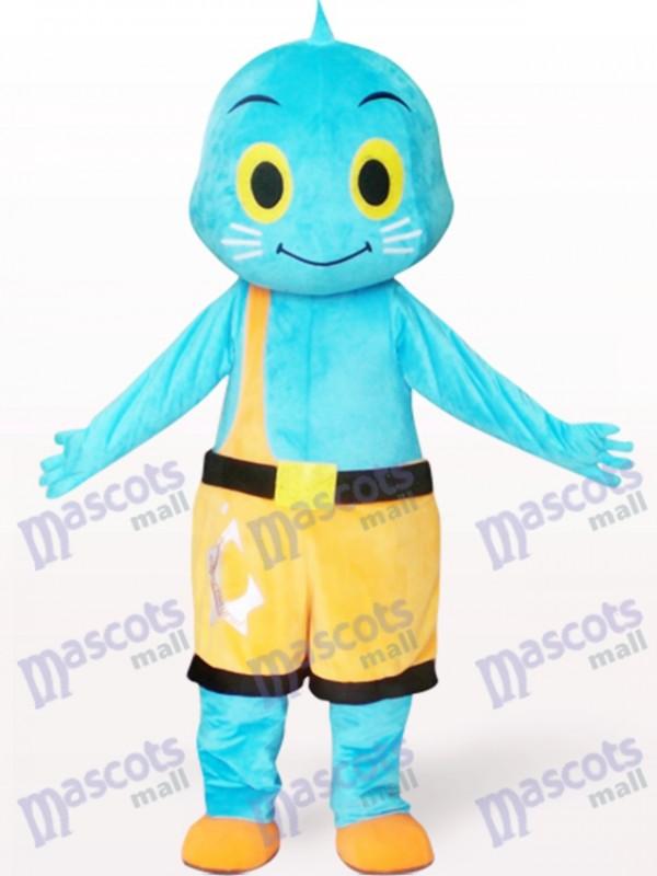 Costume de mascotte adulte de dessin animé de poupée de Mars