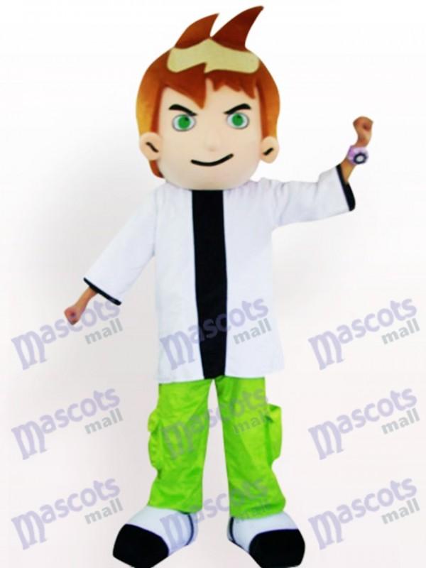 Costume de mascotte adulte Cool Cartoon garçon