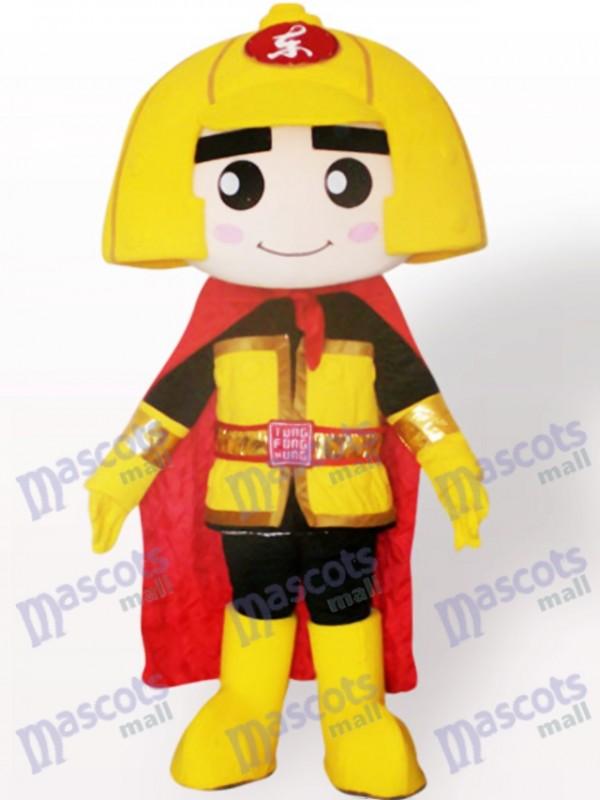 Costume de mascotte adulte de dessin animé général