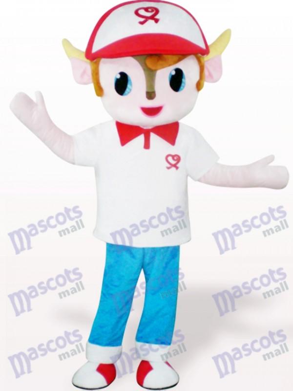 Yangyang Costume de mascotte adulte de bande dessinée