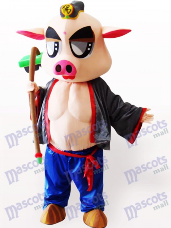 Costume de mascotte adulte Piggie Animal