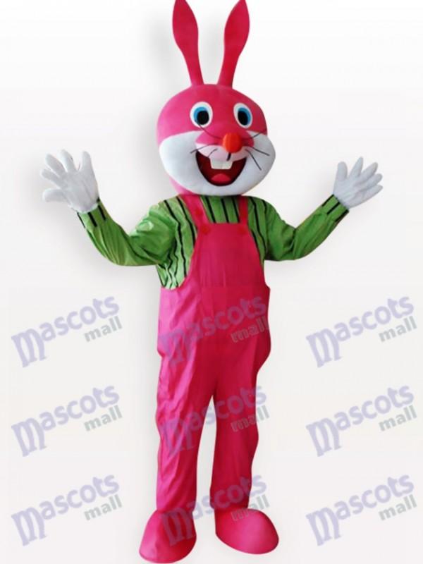 Costume de mascotte adulte de lapin de Pâques