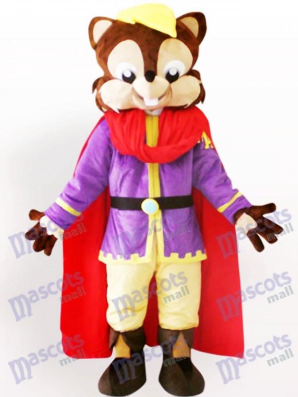 Costume frais de mascotte d'animal d'écureuil d'adulte