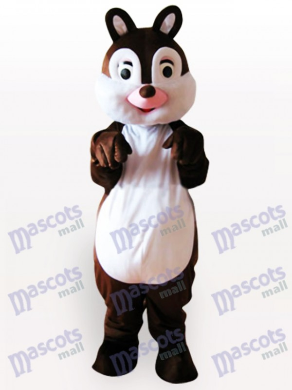 Costume de mascotte adulte petit animal écureuil
